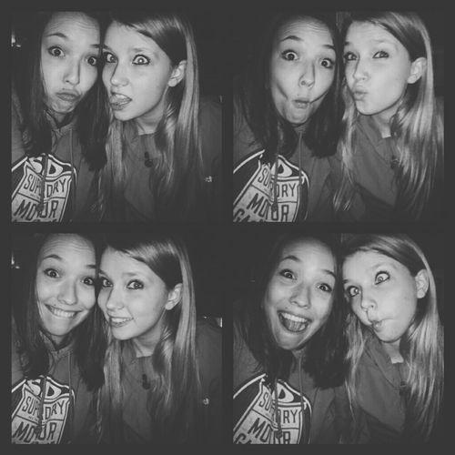 having fun with my best friend. love you ♡ Me An My Best Friend Fun Love Crazy
