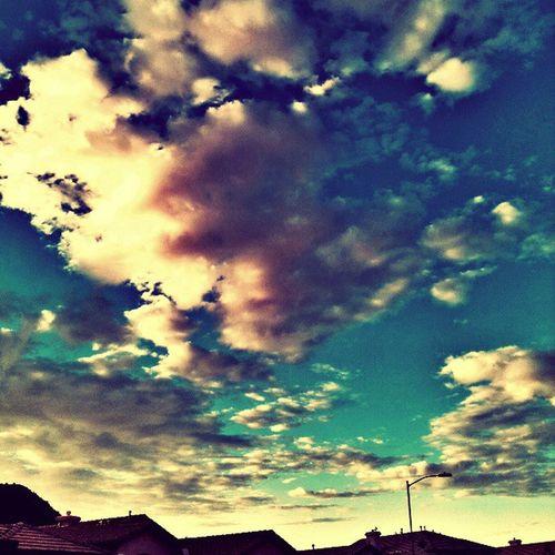 Glendaleaz Instagramaz Igersphx Cloudporn Rooftops Crazyclouds Sunrise Citylifeinaz @arizonaskies @ibeautyofnature PixlrExpress Colorful Mornings Instagramhub Nature Abstractskies Cloudwatching Cloudymorning Floatingonby Fluffy Awesome Neighborhood :)