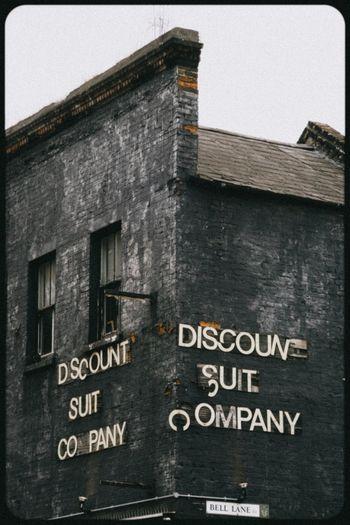 Bell Lane Derelict EyeEm_abandonment Signs Vintage Signs Bricks Streetphotography London Vintage Shopping Vintage