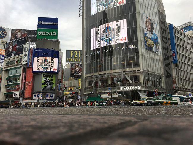 Scramble Crossing Shibuya Shibuyacrossing Shibuya Crossing People City Tokyo Mainstreet