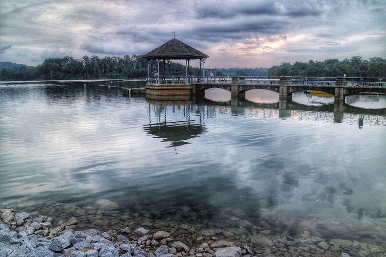 Lower Pierce Reservior Nature Nparks Nparksbuzz Reflection Reservoir Tranquility Water