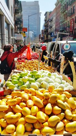 New York Chinatown Fruit on the The Street Photographer - 2015 EyeEm Awards Street Photography People EyeEm Gallery Rule Of Thirds Colors Stree Photography Urban Spring Fever