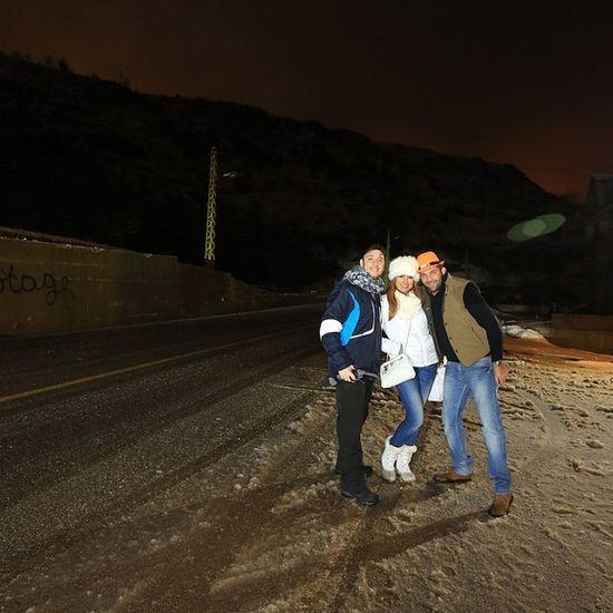 Lebanon#me#faraya#intercontinental#mzar#snow#cydars#beyrouthlife#snow#man#killing#matrix#slow#motion#destroying#others#snowman#intercontinentalmzaar#rikki'z