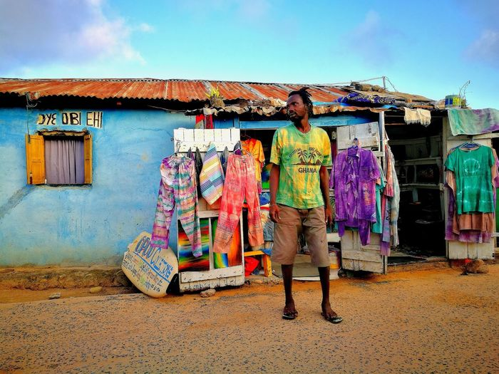 Street Life in Busua, Ghana Colours Taking Photos Getoutandexplore View EyeEm Selects Wooden House Rustic Character Getinspired Getoutside Explore ExploreEverything Exploretheworld Travel Travel Destinations Travel Photography Traveling Capture The Moment Capture The Beauty Photography Photographylover Tranquil Scene Charm Multi Colored Street Art Graffiti Art And Craft Sky Built Structure ArtWork Streetwise Photography