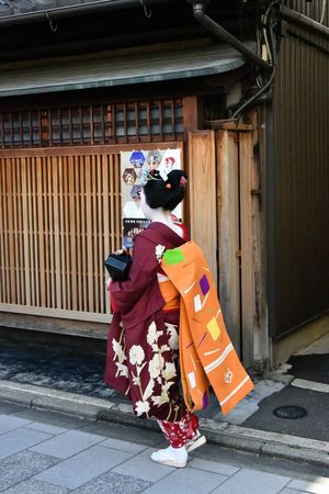 Architecture Building Exterior Real People Full Length Clothing Traditional Clothing Built Structure