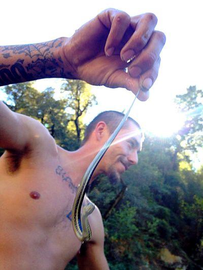 Baby Snake Snake Riverside Nature My World Sun Rays Little Moments