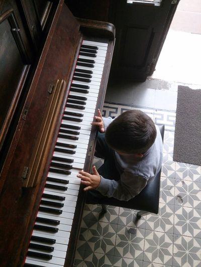 Piano kid.