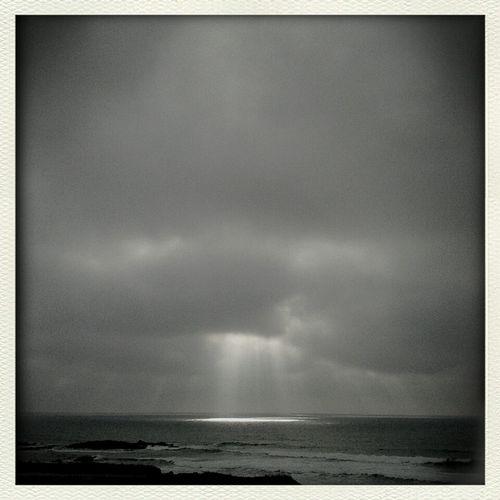 Ray of light Seaside Sea Skyscape