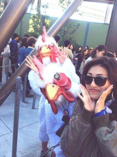 🌏 Universal Studios  Outdoors Horrornights Chickens Very Nice Fun My Birthday Thankyou GoodTimes