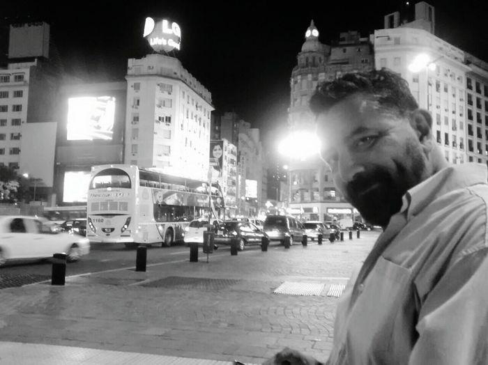 Av. 9 de Julio. Buenos Aires. Capital Federal. Marzo de 2015 Buenos Aires, Argentina  Nighttime Noches Porteñas  Its Me! Beard Bearded