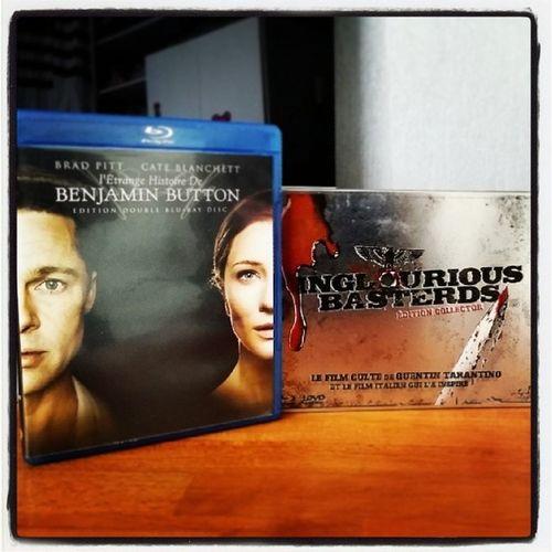 Récolte Bluray du jour ! BenjaminButton et Inglouriousbasterds Tarantino
