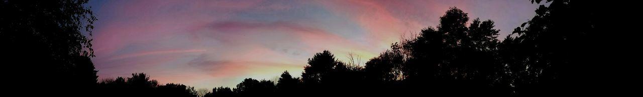 Sunset Pamoramic Panoramic Photography Panoramic View Evening Sky Dusk No People Colorful Sky