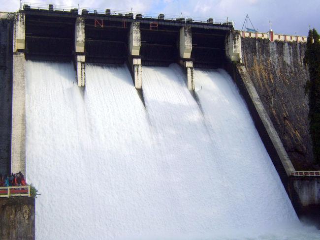 Dam Shutter Spillway Water