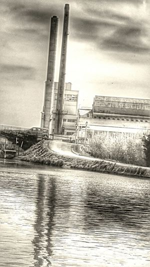 Usine Seine Et Marne France Work Hdr_Collection No People Galaxys6edge
