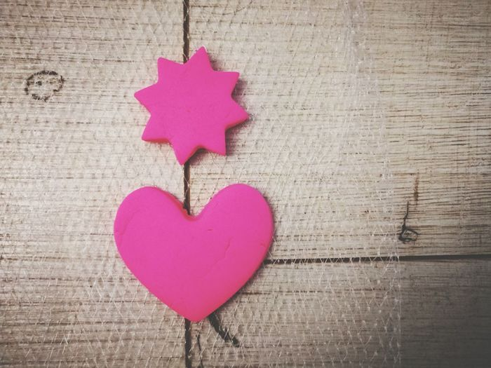 Playdough Play Dough Heart Shape Love Pink Color Shape Valentine's Day - Holiday No People Indoors