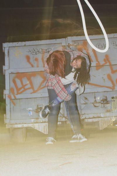 Goofballs Nightwalk Street Photography Graffiti Crate Long Exposure