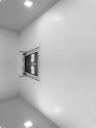 Inception in the white room Room White White Background Inception Illuminated Wall - Building Feature Lighting Equipment Indoors  Ceiling No People Architecture
