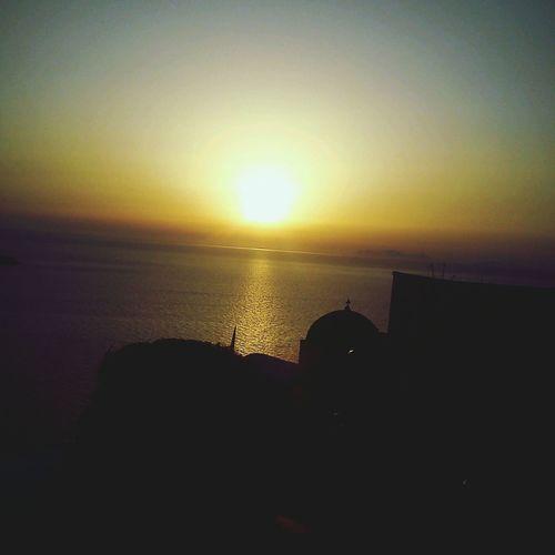 Santorini Oia, sunset summer 2014