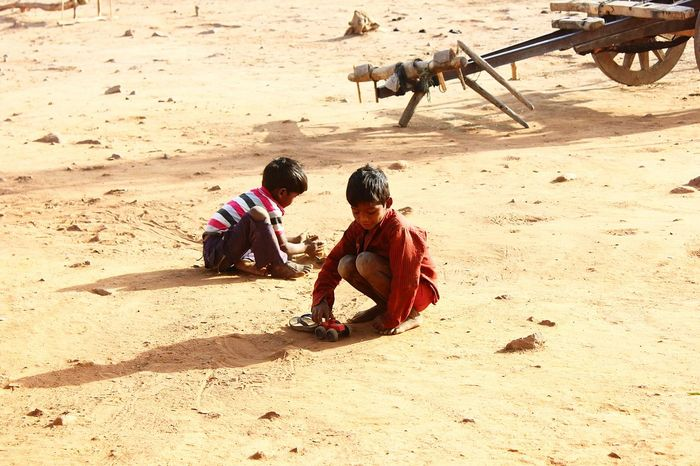 Child Boys Childhood Outdoors Togetherness Day The City Light Village Photography Lanscape Tribal Tribe India Indian Culture  Indian Culture  Village Scene Village Road Villagescape Lifestyles Full Length Field Toy Toys Ruralphotography EyeEmNewHere The City Light
