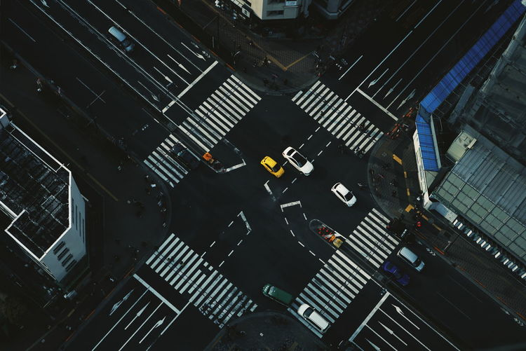 intersection Tokyo Japan Streetphotography City Cityscape Aerial View City Life Architecture Building Exterior Close-up Crossroad Road Intersection The Street Photographer - 2019 EyeEm Awards