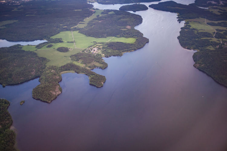 High Angle View Of Water
