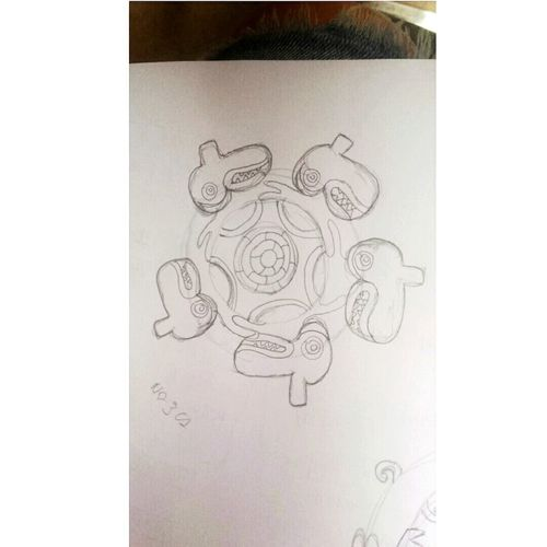 Dibujo A Lapiz Mandala Inpirational Iconos Culturas
