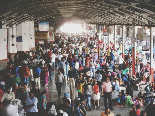 crowd at indian railway station Working Passanger Boarding Railway Station Rail Transportation Rush Hour Waiting Waiting For A Train Citylife Cityscape Commuter People people and places People Photography Crowd Ice Rink Audience Men Illuminated Arts Culture And Entertainment
