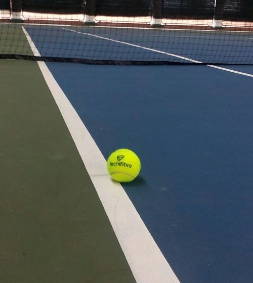 Tenniscourt Tennis 🎾 Tennis Court Tennisball Tennislover❤ Tennis Game On The Line Line Call Right On The Line Its An Ace