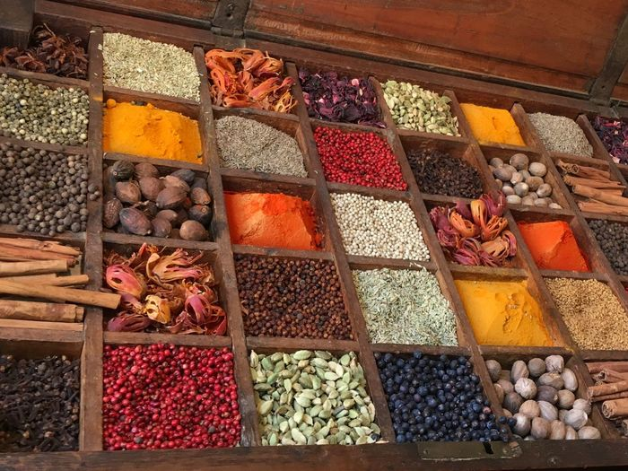 Variation Food Multi Colored Choice Food And Drink Abundance Dried Food Spice Dried Fruit Large Group Of Objects Freshness No People Market Stall For Sale Market Walnut Day Indoors