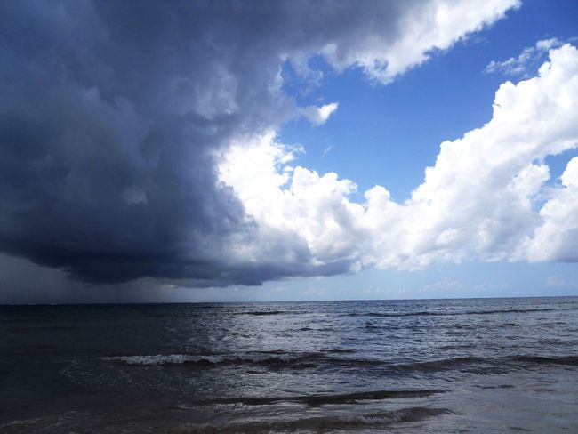 Sea Sky Nature Scenics Beauty In Nature Cloud - Sky Water Horizon Over Water Tranquil Scene Tranquility No People Outdoors Beach Day Live For The Story