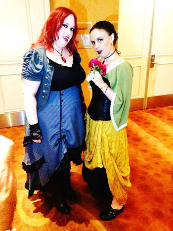 Batsday Swingingwake Undead Costume Cosplay Vampire Blackplaguevictim Funtimeswithfriends GreatMemories ❤ Deadmansparty Bestfriends ❤ SoulSisters