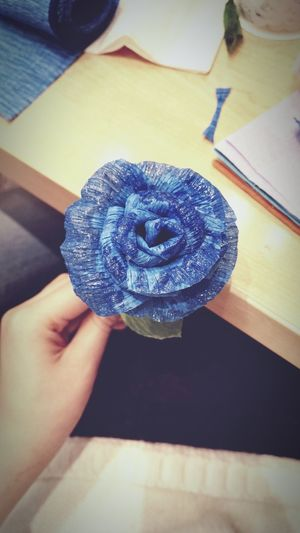 Handcraft Flower Friendship My handcraf! Rose♥ Rose🌹 Rose Are Blue