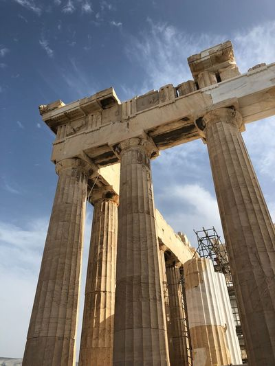 Partenone Acropolis Parthenon EyeEm Selects Architecture History Old Ruin Low Angle View