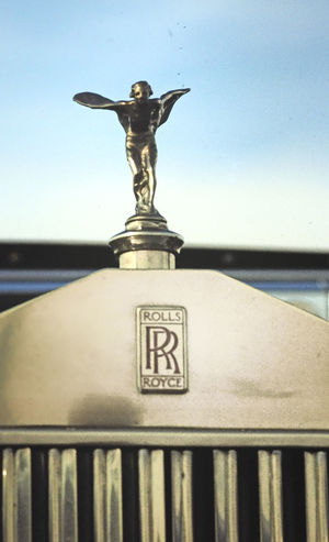 Roller Spirit Of Ecstasy Animal Themes Car Trophy Clear Sky Close-up Day No People Outdoors Rolls Royce Phantom Sculpture Sea Sky Statue Text Water Best Car In The World?