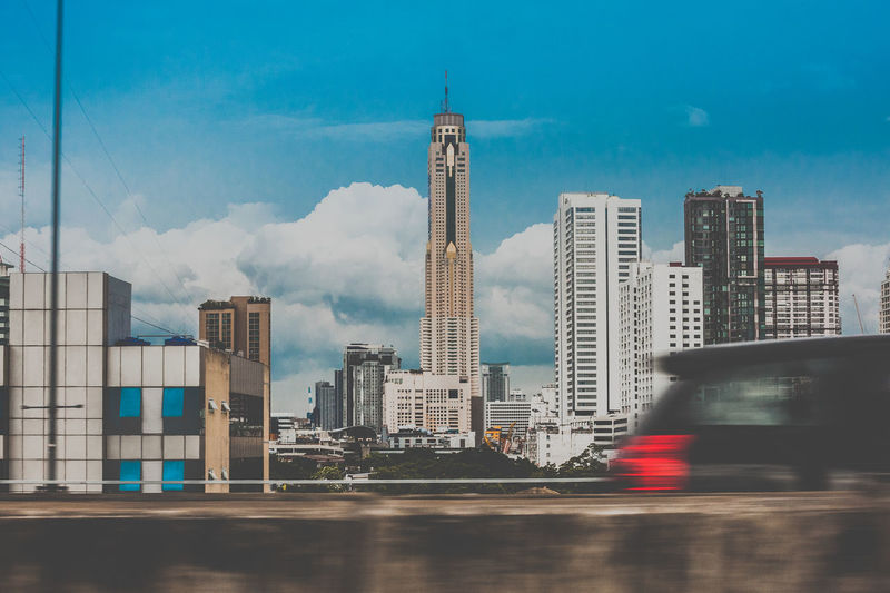 Bangkok Thailand Architecture Building City Cityscape Cloud - Sky Modern Sky Tall - High First Eyeem Photo EyeEmNewHere
