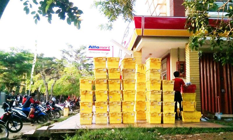 Yellow boxes Yellow Box Yellow Color Inonesia
