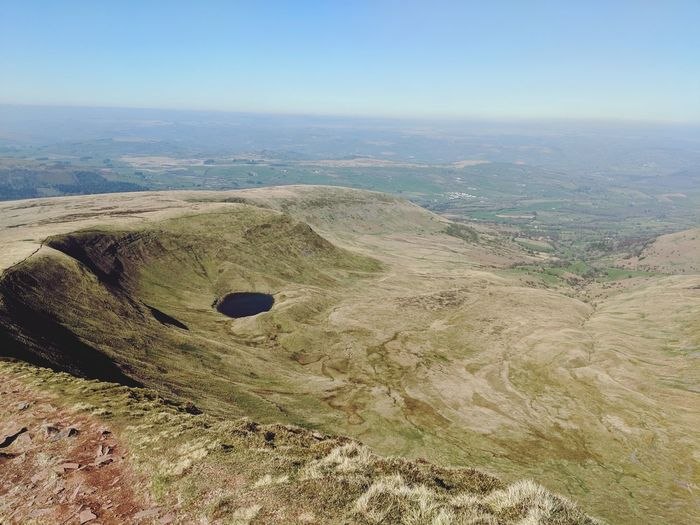 Near the summit