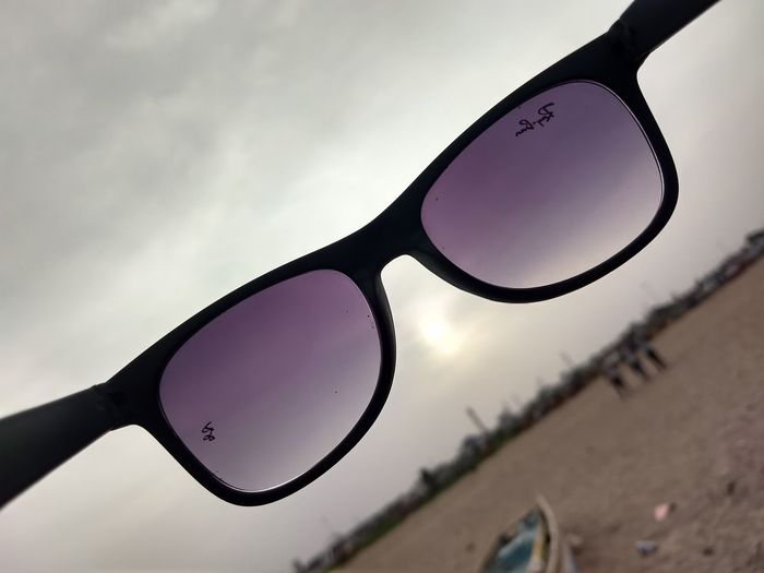 Through shades