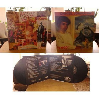 Record Store Day pick up 2 Daniel Johnston- Artistic Vice/1990 double LP Danieljohnston Vinyl Recordstoreday @carlxmertz LOOK