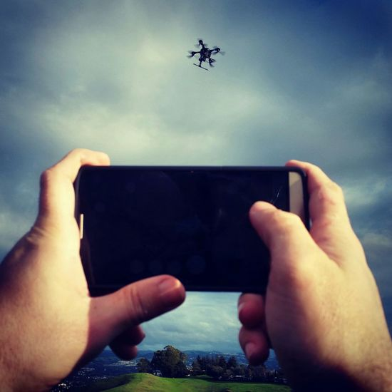 Getting some flight time in with my Ghost drone and GoPro this cloudy Sunday evening! Gopro Drone  Aerialphotography