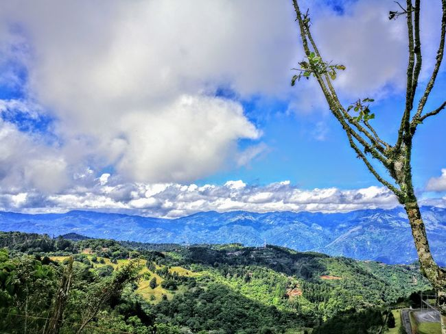 Aserrí Nature Sky Outdoors Scenics Mountain Blue Landscape Beauty In Nature Freshness Costa Rica