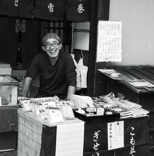 Portraiture; B/W Photography Street Market Streetphotography Streetphoto_bw Takayama Japan EyeEm Best Shots - Black + White Japan Photography Japanese Style Japanese Culture