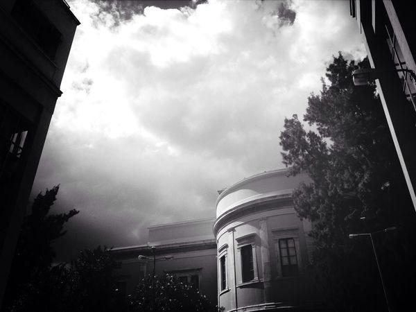 Clouds And Sky Blackandwhite University