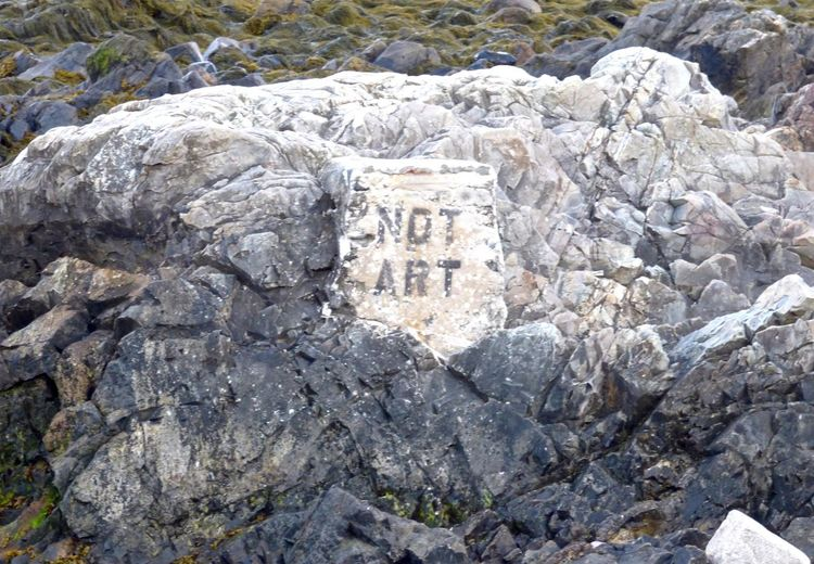 Who's to Say? Ancient Coastline Landscape Day Graffiti Art History Kennebunk Maine No People Old Outdoors Rocks Shoreline Stone Material The Past Tourism Travel Destinations