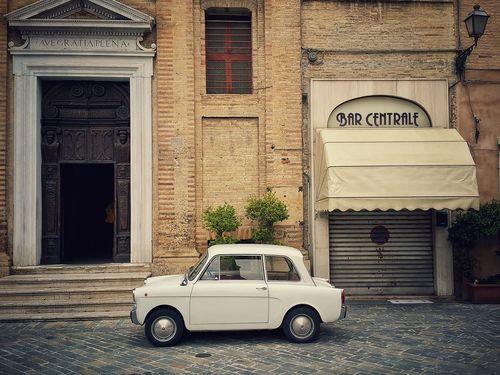 Autobianchi Italy Italia Auto Bar Piazza Idillico Marche