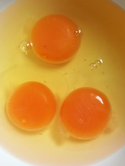 Eggs Yellow Food And Drink Food Close-up Full Frame Healthy Eating Freshness Egg Yolk Chicken Eggs