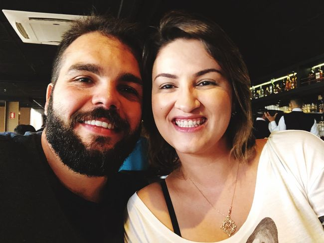 👫😘😍 Happiness Smiling Looking At Camera Selfie Young Adult Portrait Two People Young Women Togetherness Young Men Real People Beard Headshot Lifestyles Cheerful Indoors  Day