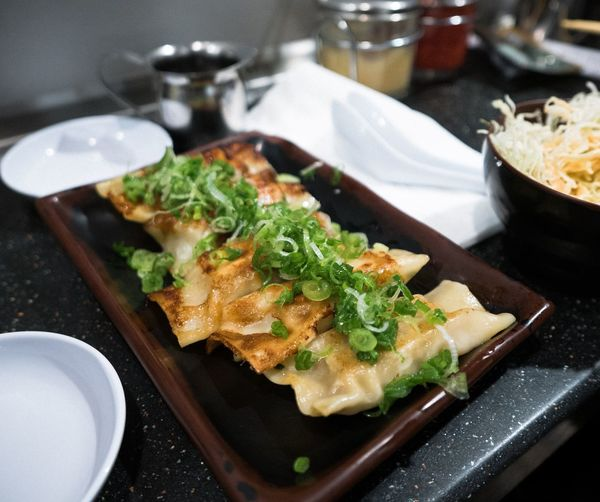 Homemade Comfortfood Japanese Food Gyoza Food And Drink Food Indoors  Plate Freshness Table Ready-to-eat Healthy Eating