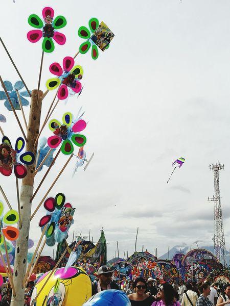 Sky Kites Sumpango  Guatemala Multi Colored