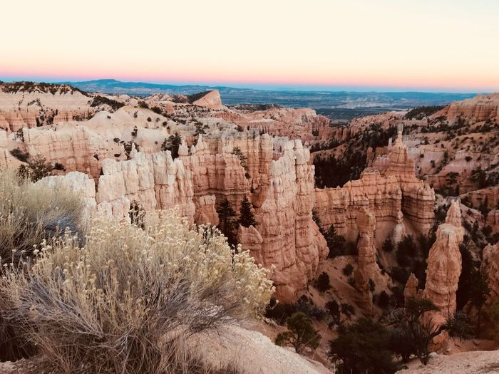 EyeEm Selects Nature Rock Formation Tranquil Scene Beauty In Nature Rock - Object Physical Geography Scenics Geology Tranquility Travel Destinations No People Outdoors Landscape Day Arid Climate Rock Hoodoo Sky Tree